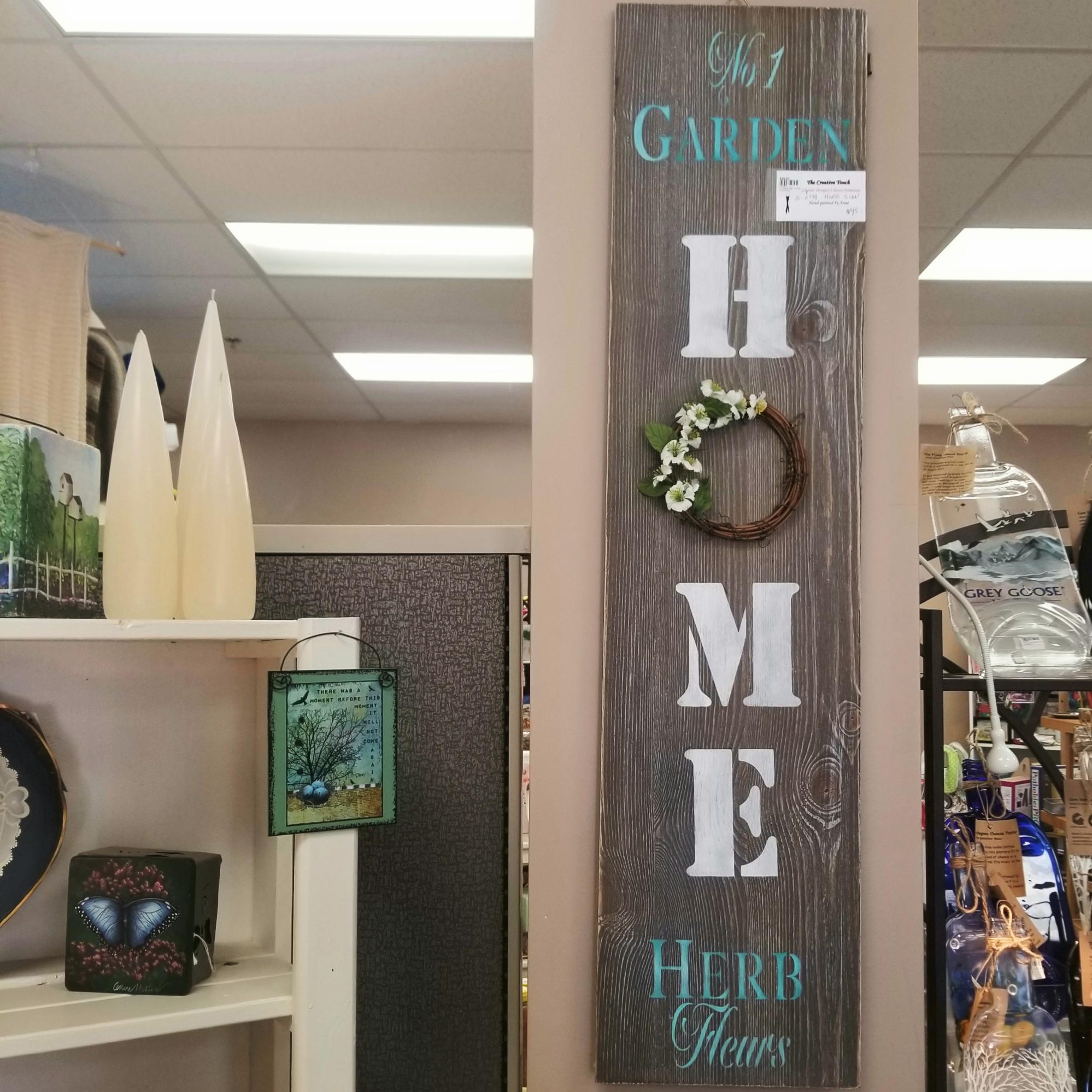 15-Home Sign: Garden