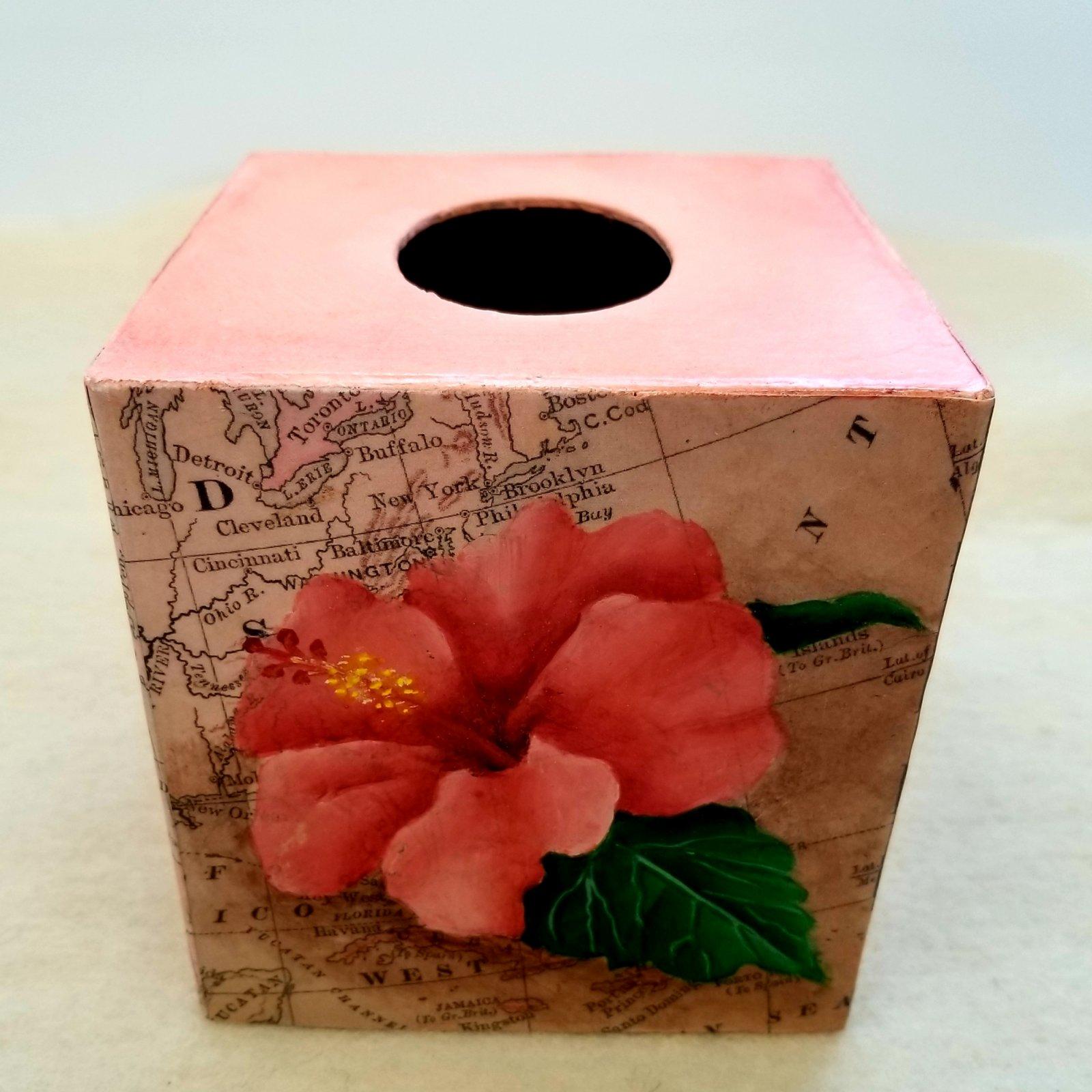 15-Hibiscus Tissue Holder