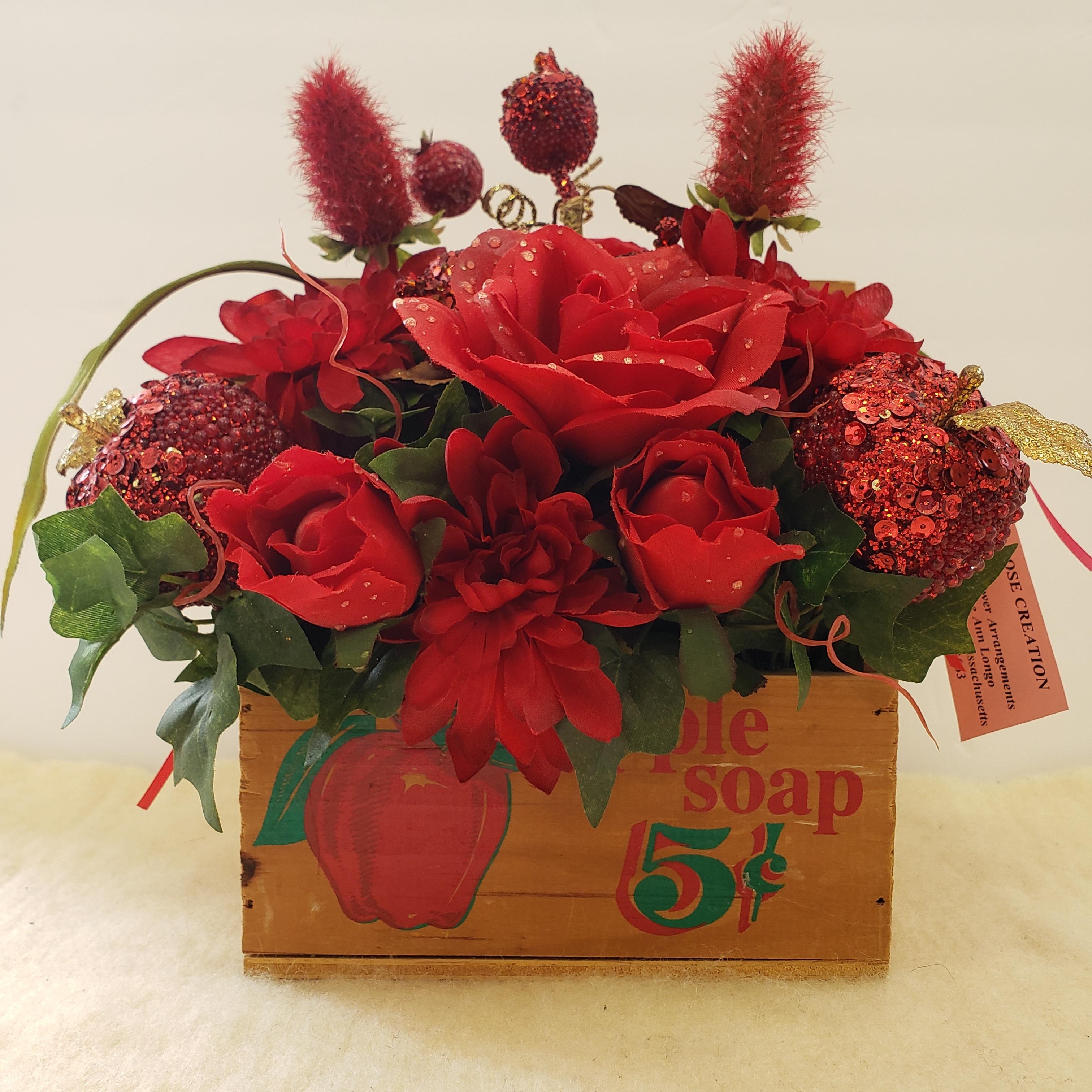 29-apple/rose crate