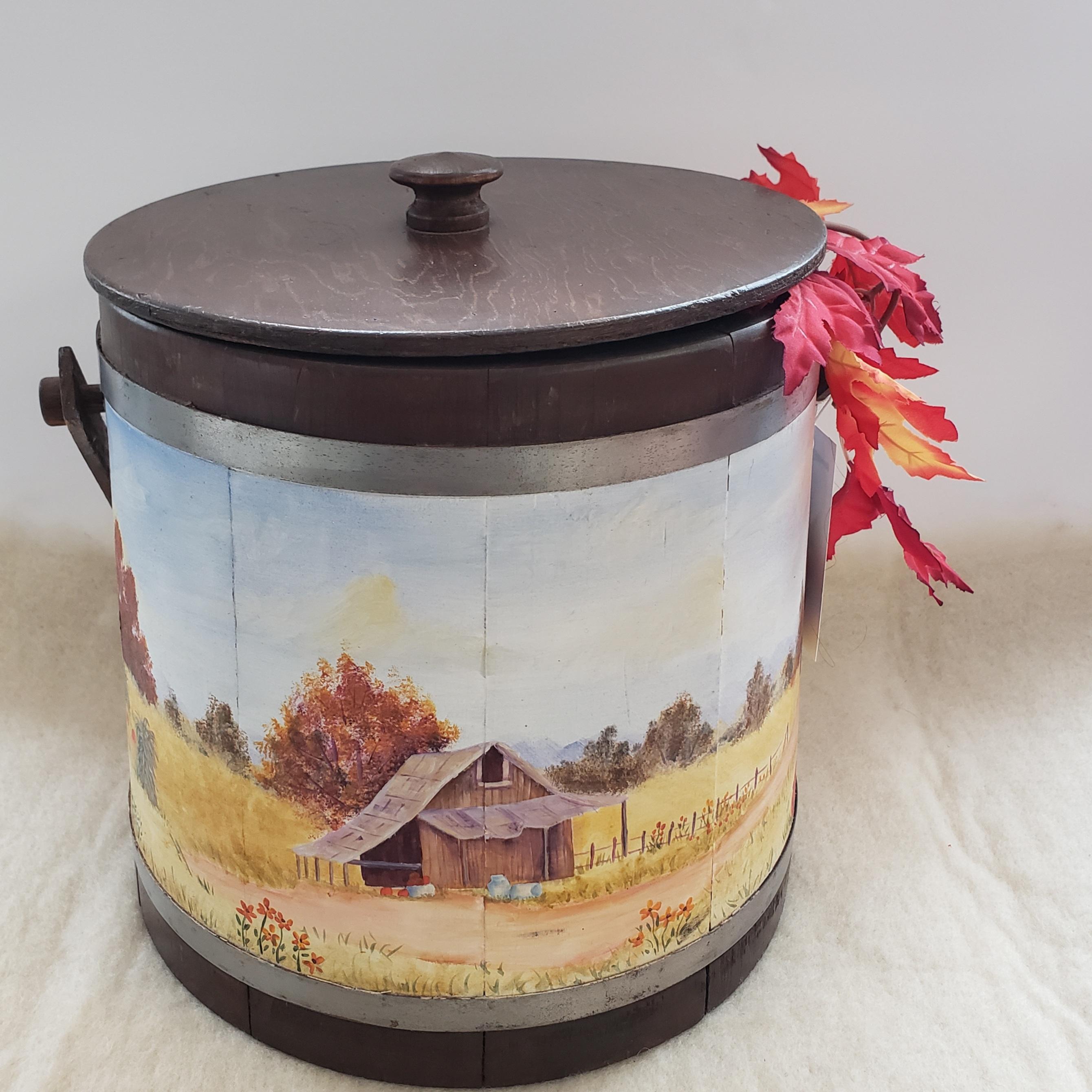 15 - Antique Sap Bucket