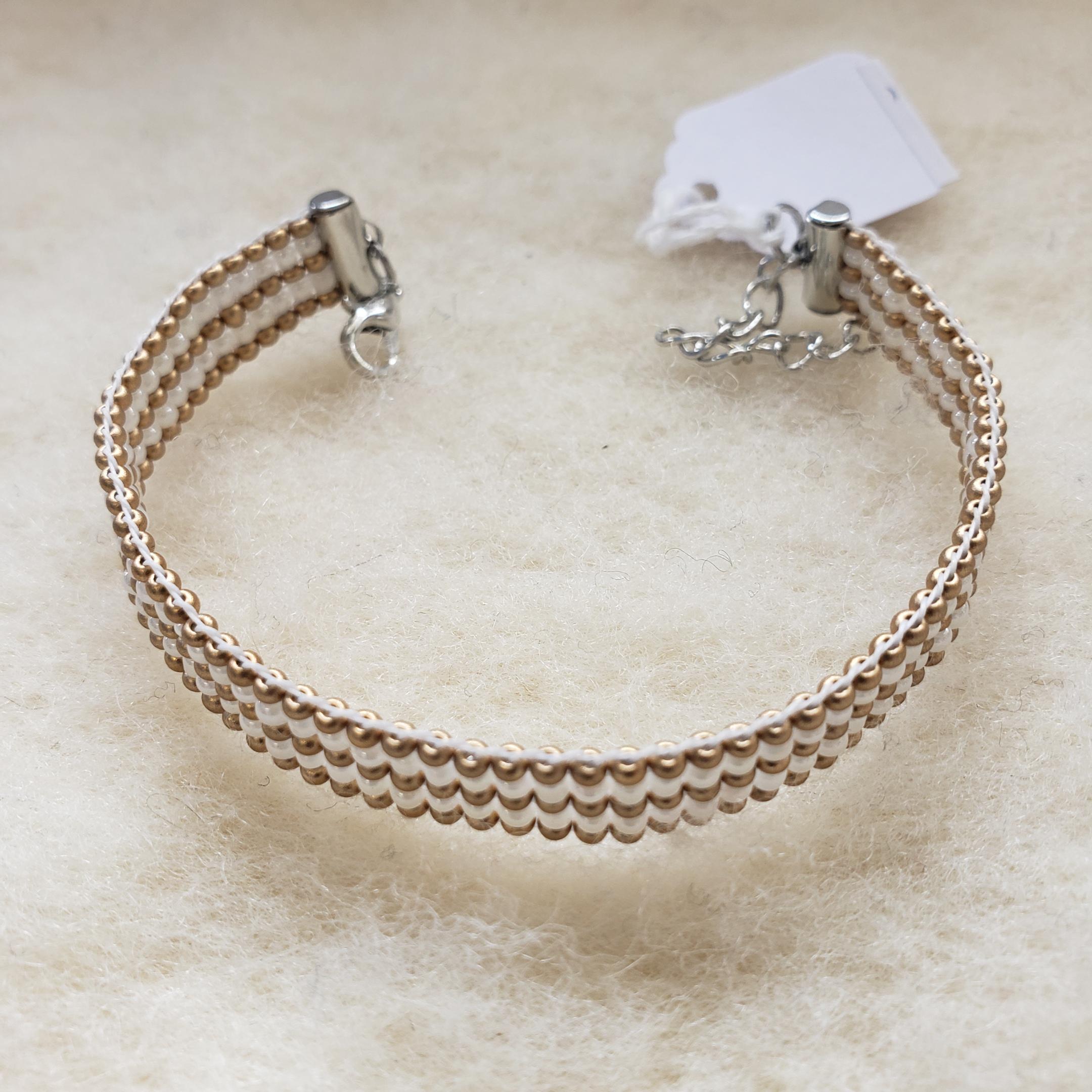 35-Beaded Bracelets (Adjustable Length)