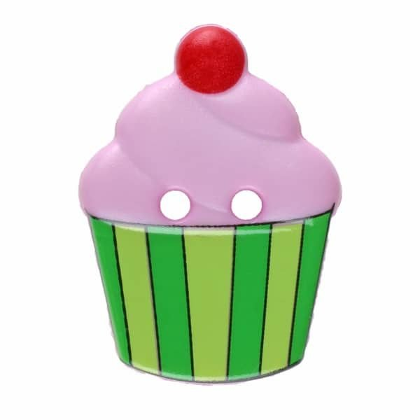 Novelty Cupcake buttons (20mm)