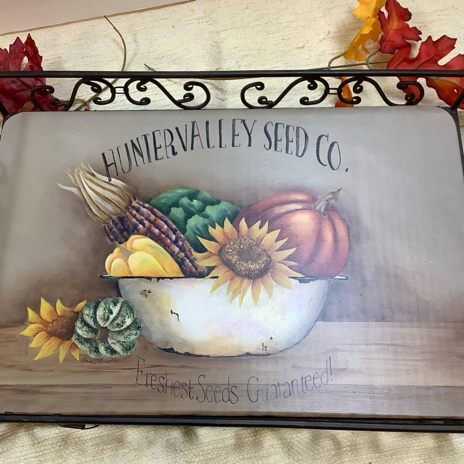 15-Fall Still Life / iron tray