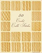 BK-50 Crochet Cable Stitches