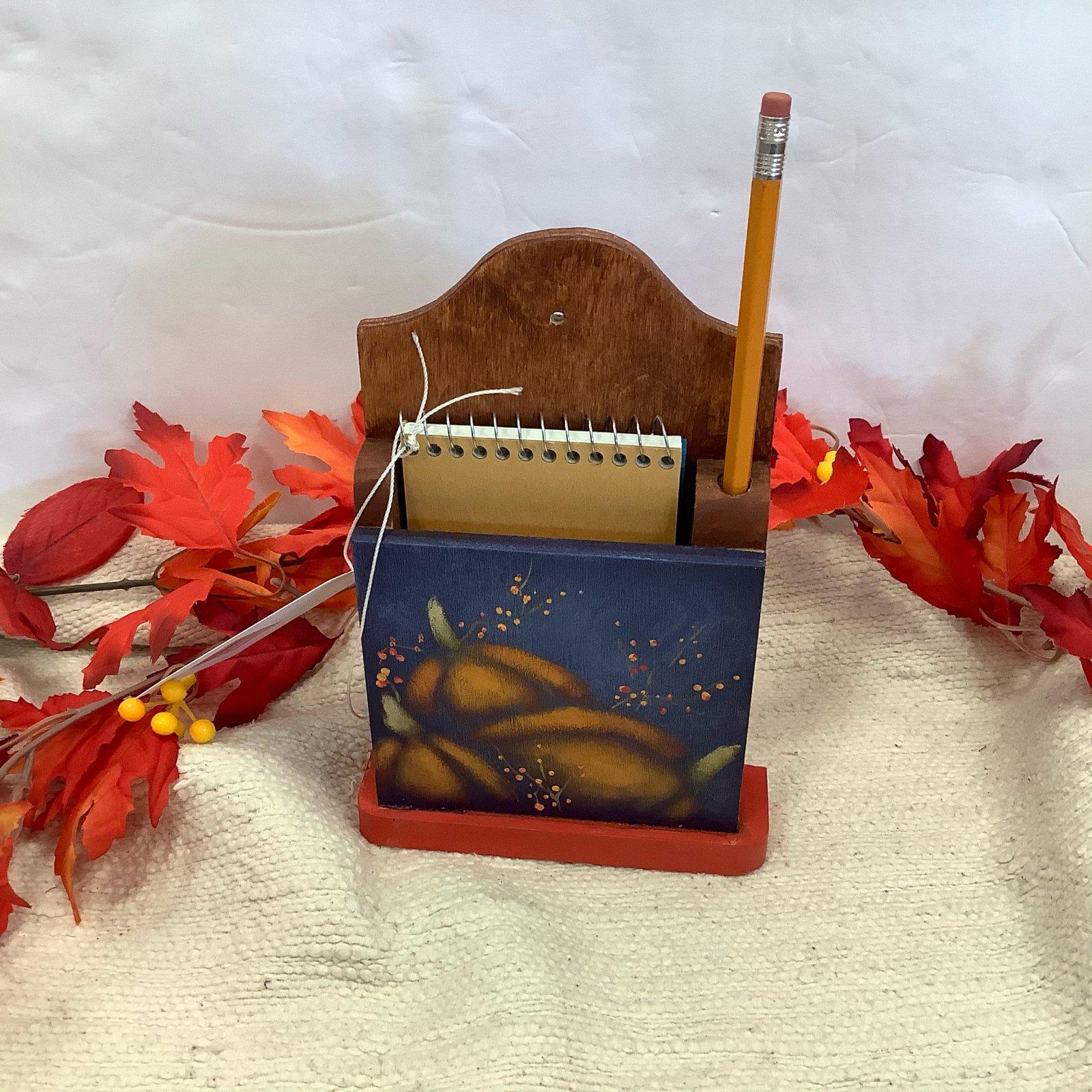 15-note holder pumpkin