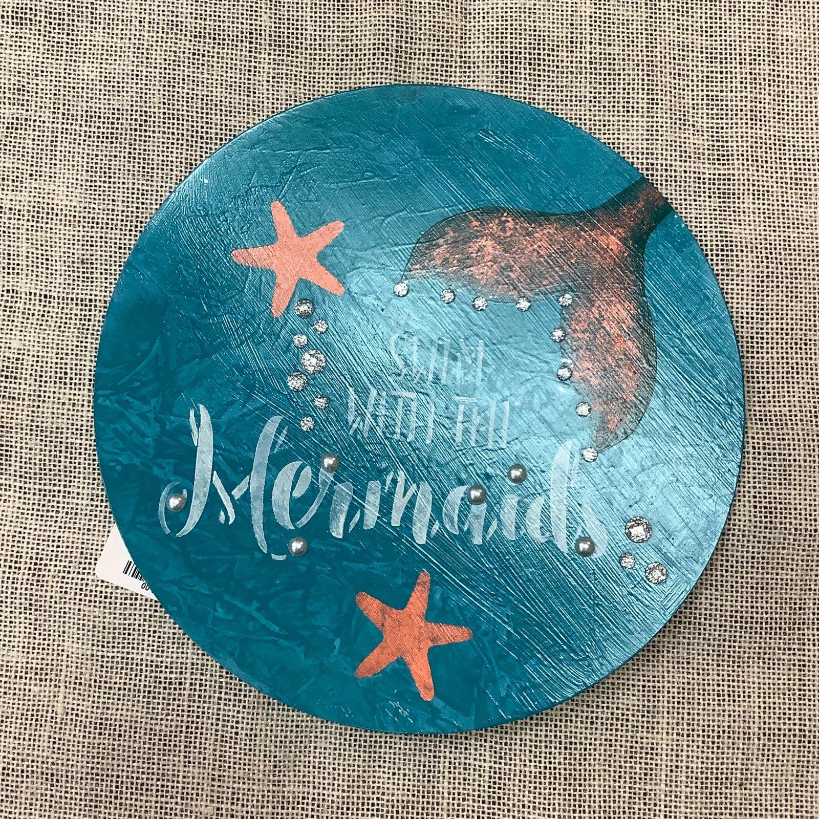 15-Mermaid Plaque