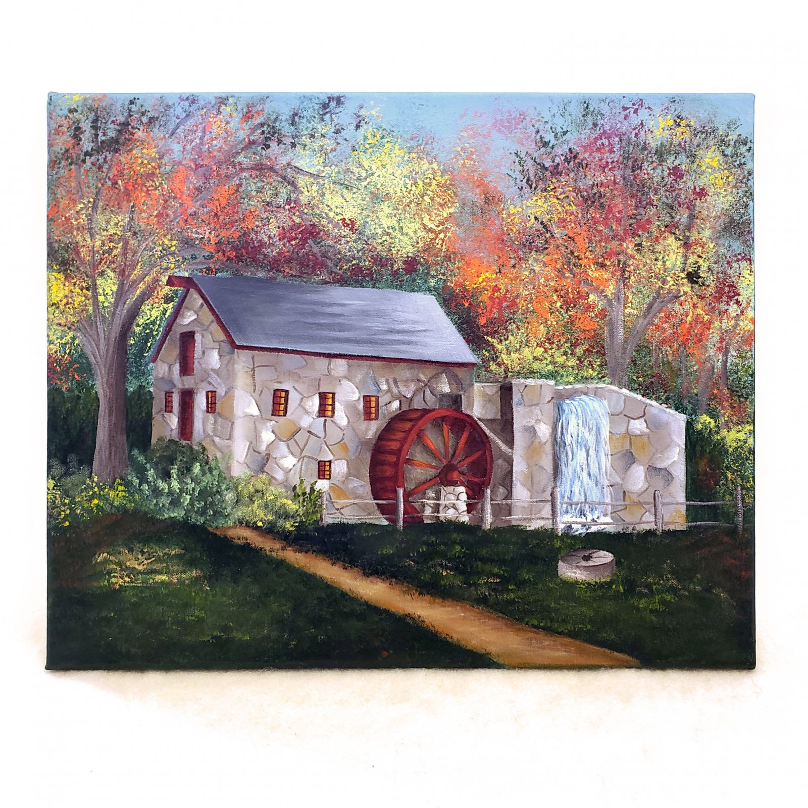 15-Grist Mill 16 x 20 in