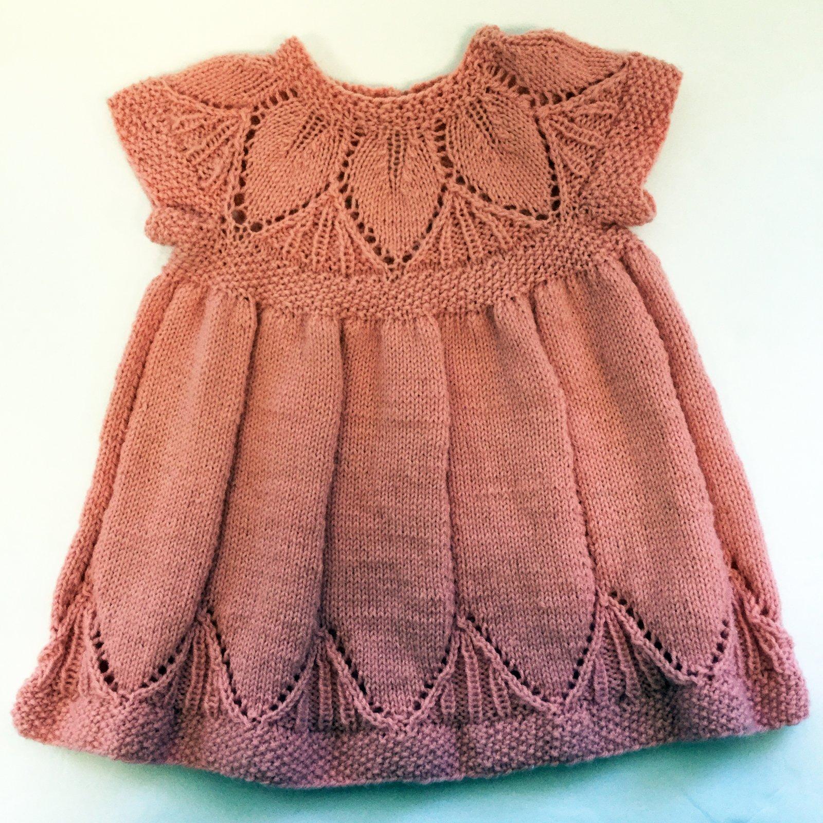 87-Peach Dress