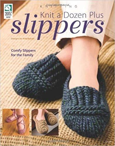 BK-Knit a Dozen Plus Slippers
