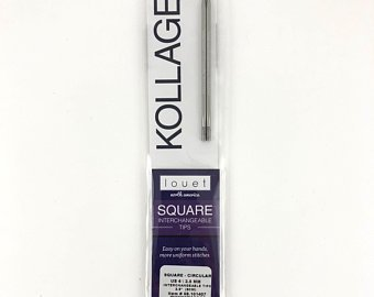 "Kollage Square Circular Knitting Needles 9/"" ORIGINAL"