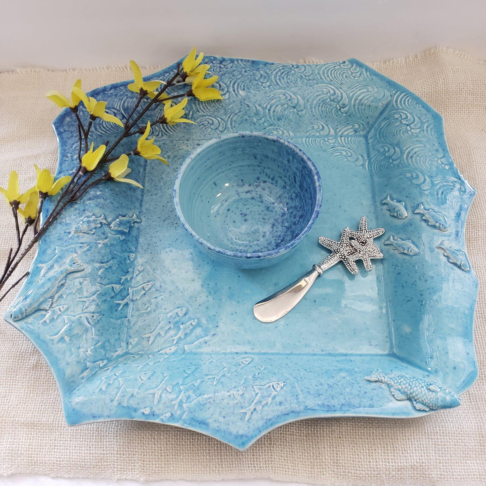 52-Large Square Platter