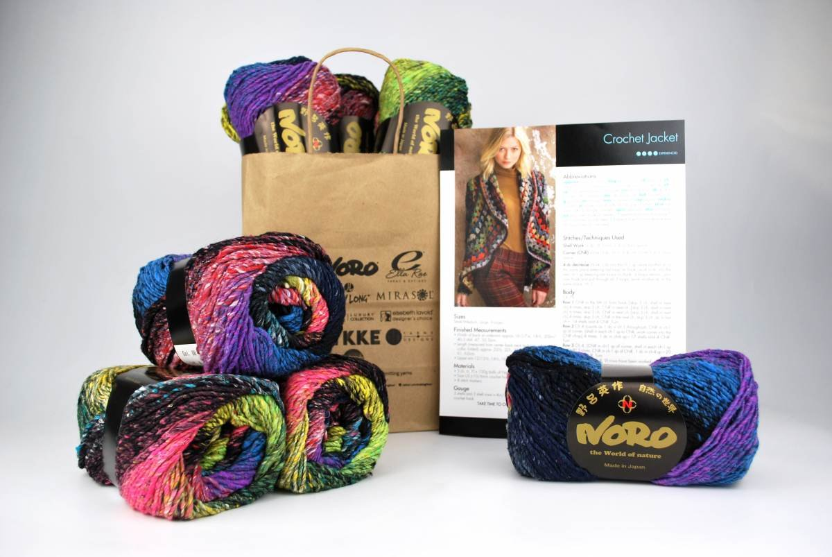 NORO Kit / Crochet Jacket feat. Taiyo