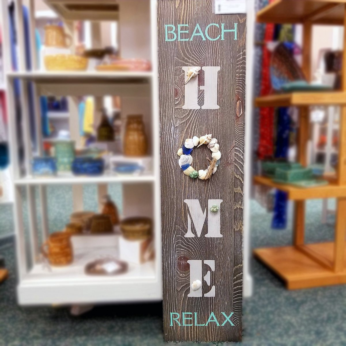 15-Home Sign: Beach