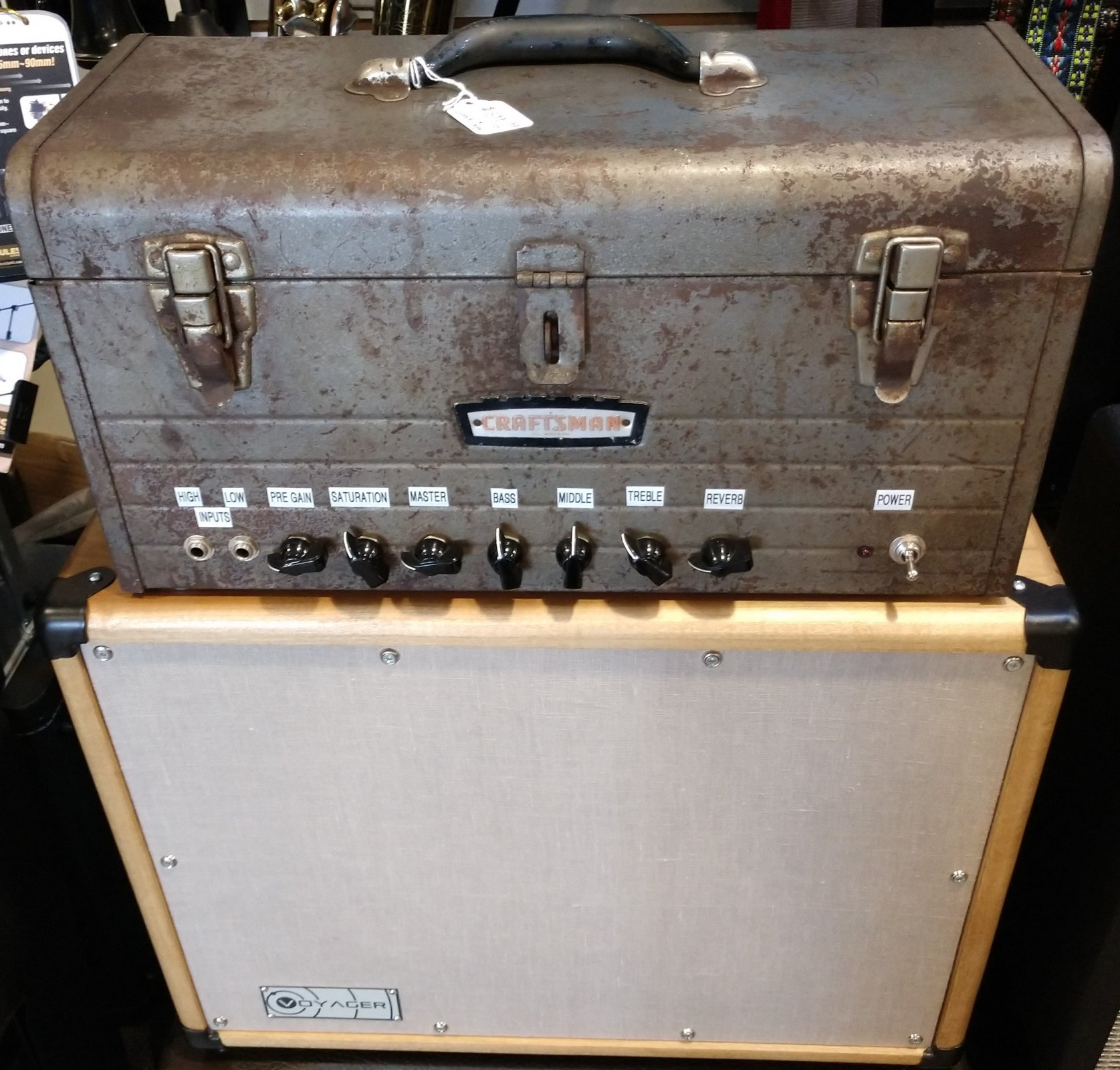 AMPLIFIER - Craftsman Toolbox Amp w/ Voyager 112 Cab; 30 Watts