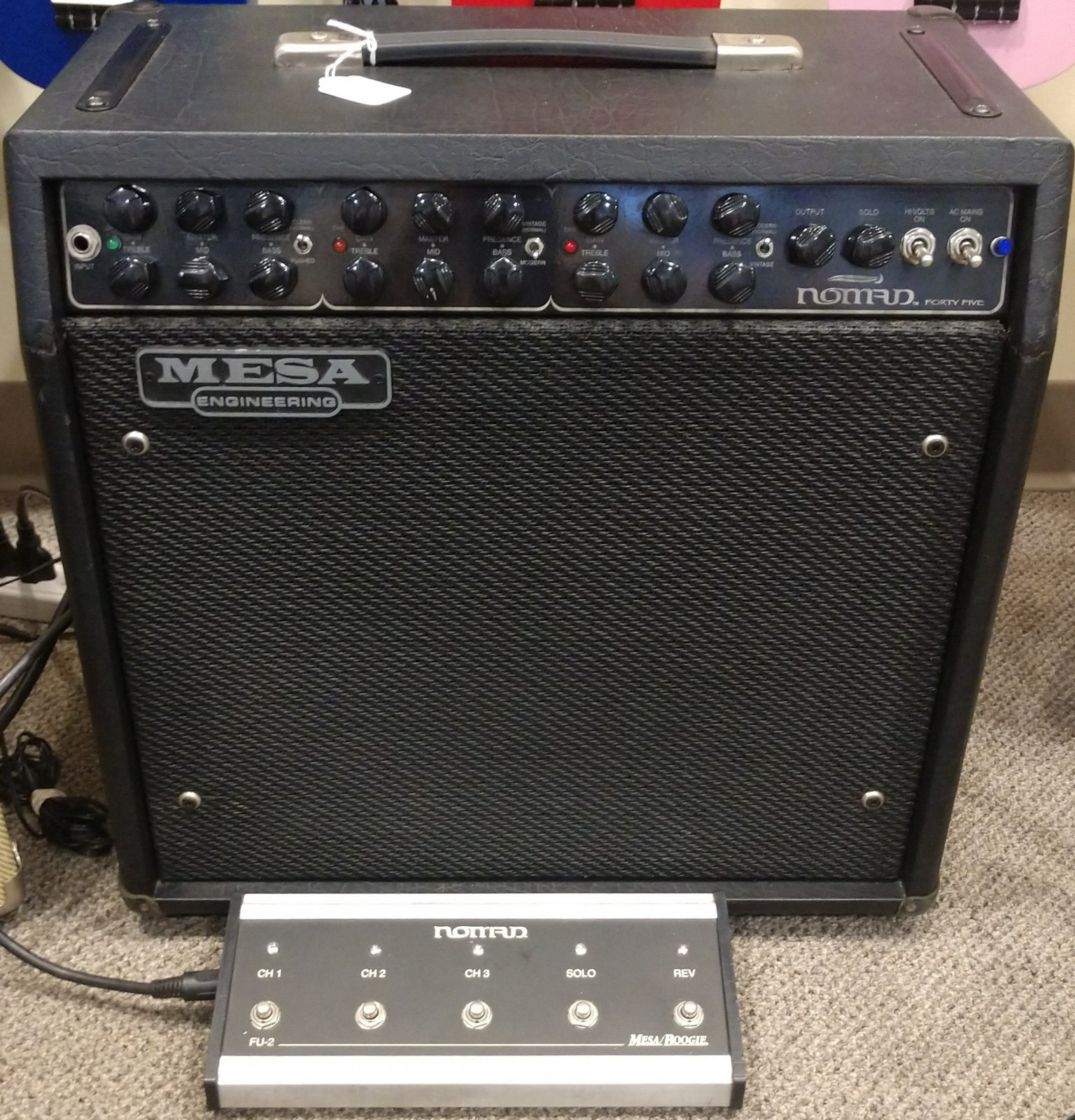 AMPLIFIER - Mesa Boogie Nomad 3-Channel Tube w/ footswitch; 45 watts