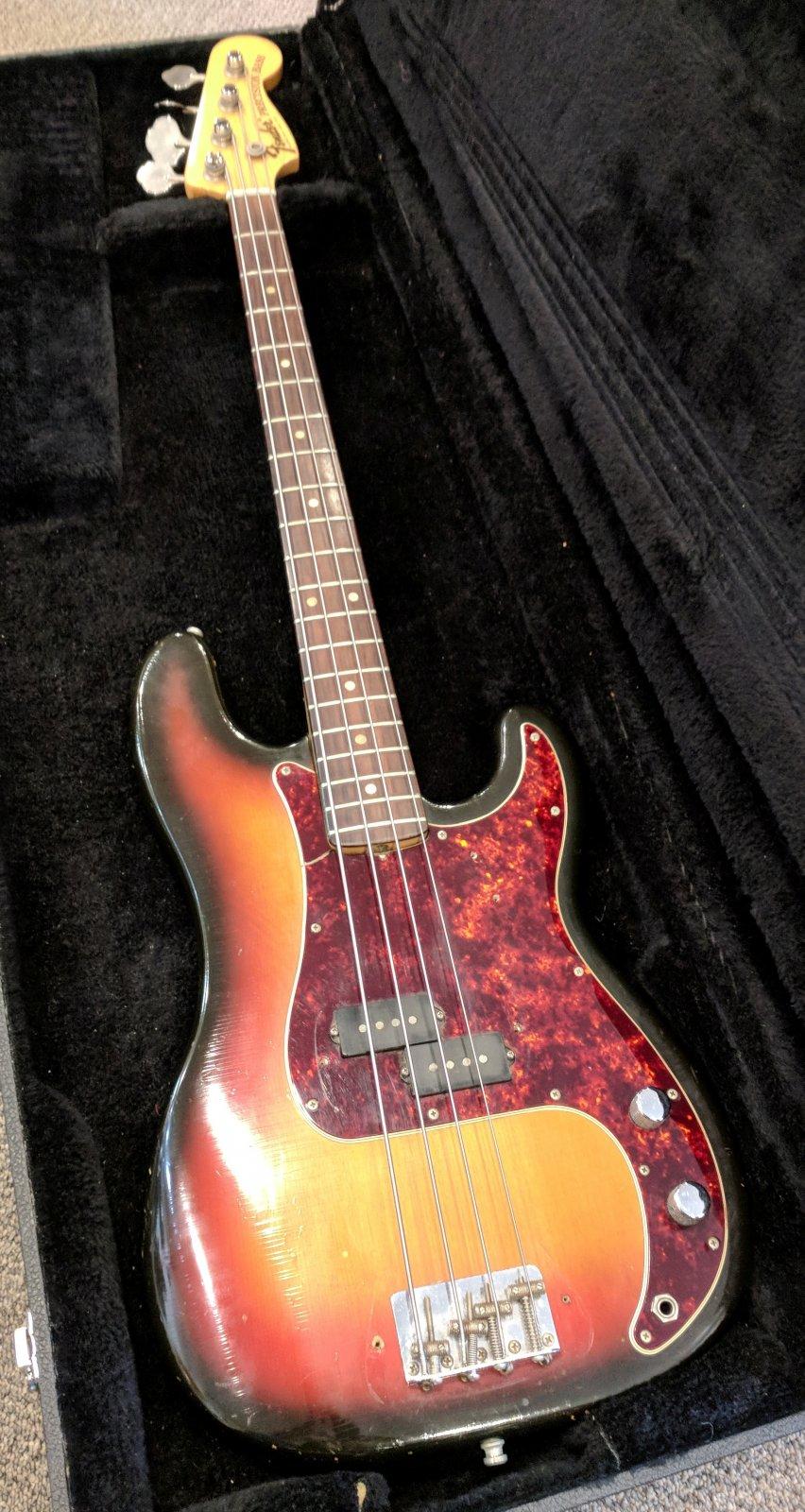 BASS GUITAR - 1968 Fender P Bass #210244