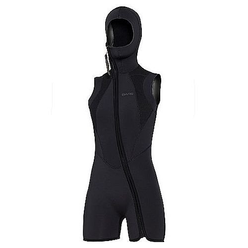 Bare Womens 7mm Step-In Hooded Vest