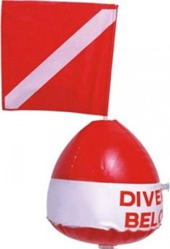 Diver Below Surface Float W/Flag