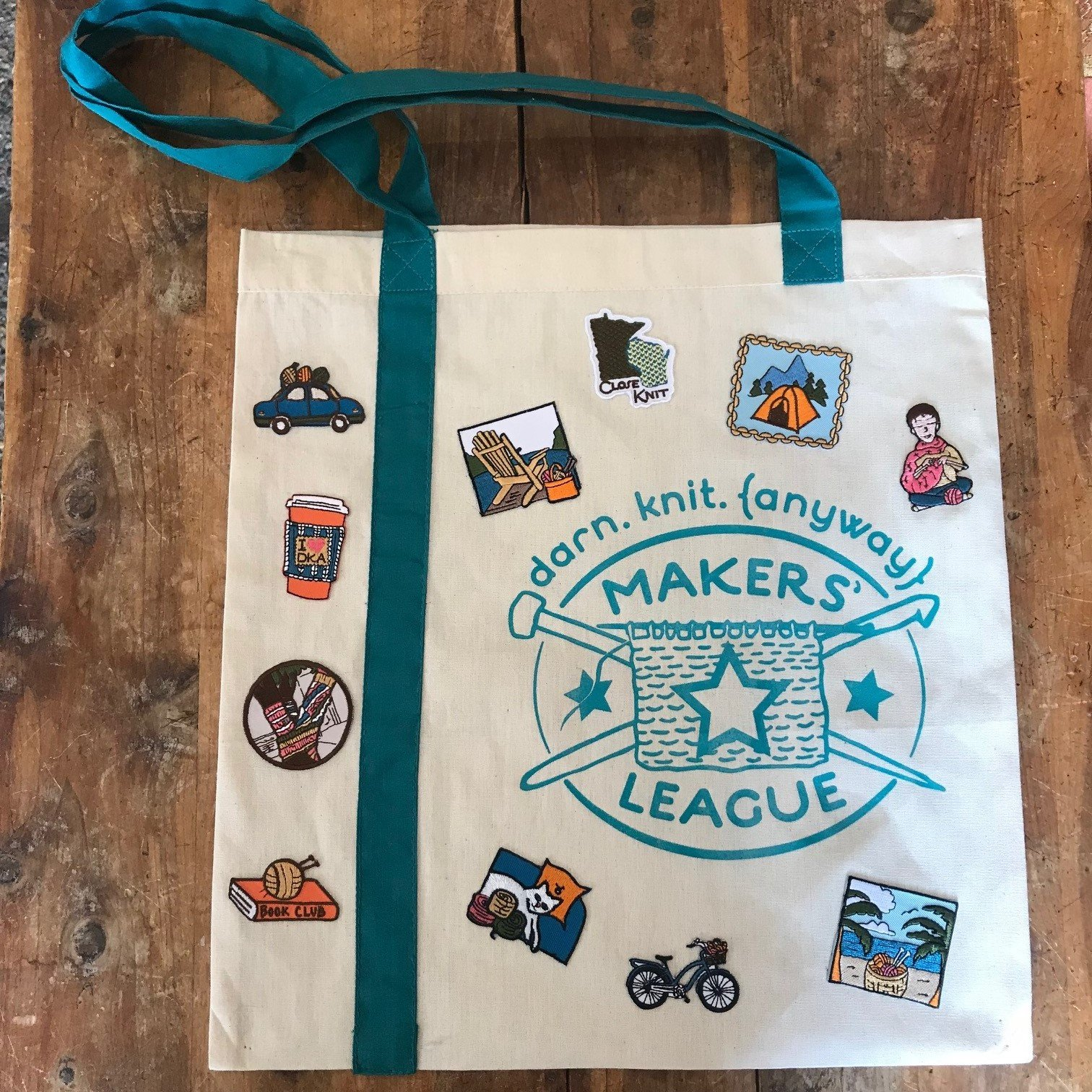 Makers' League Tote Bag