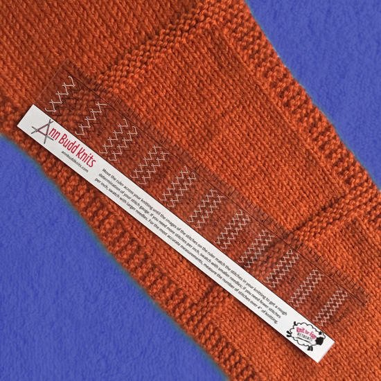Ann Budd Handy Gauge Ruler