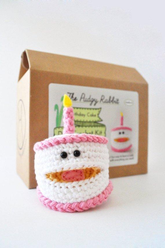 The Pudgy Rabbit Crochet Kit