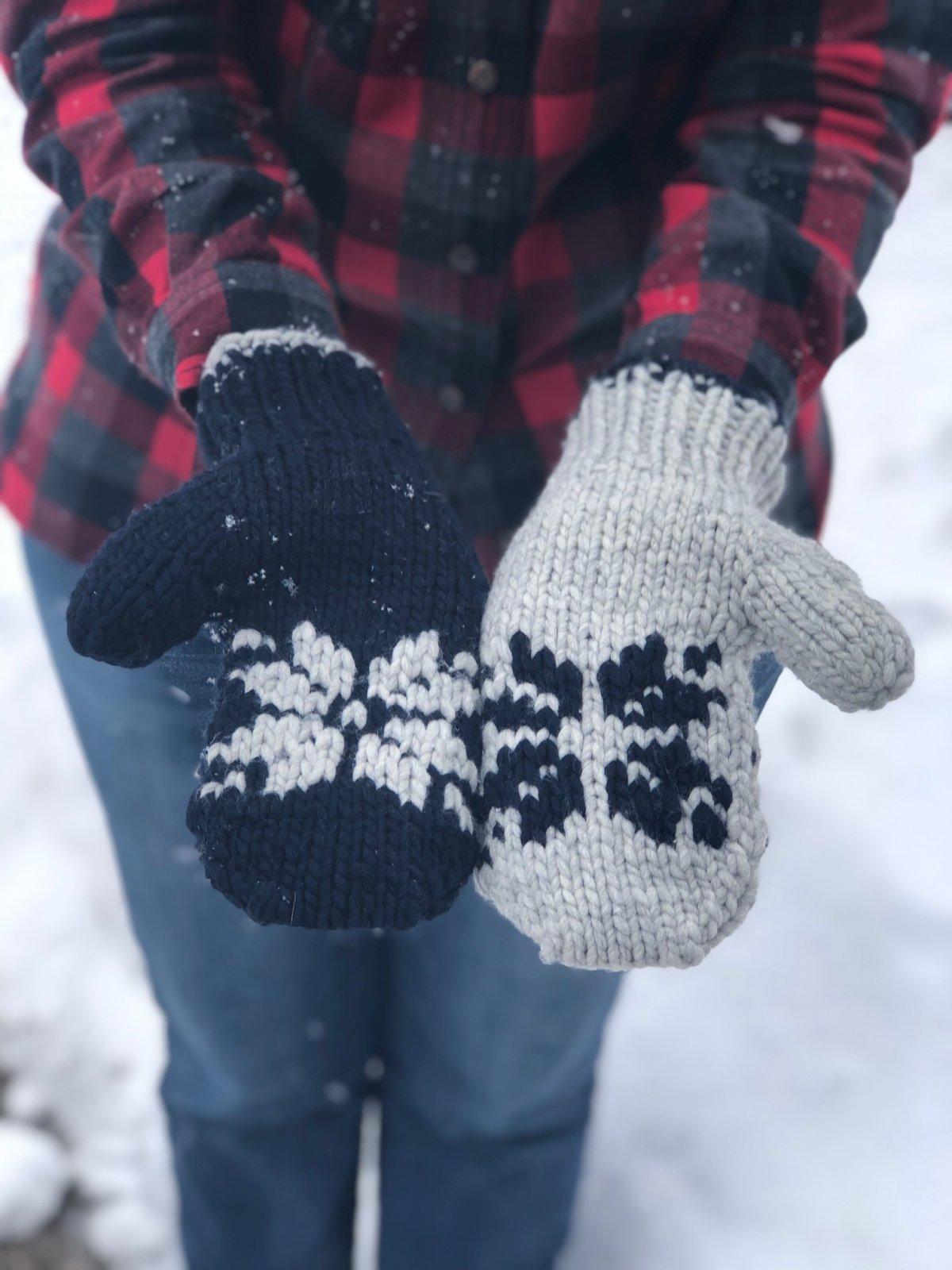 Snow'ver It! Mittens
