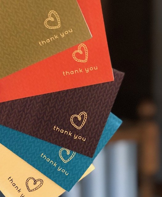 DKA Thank You Card Set