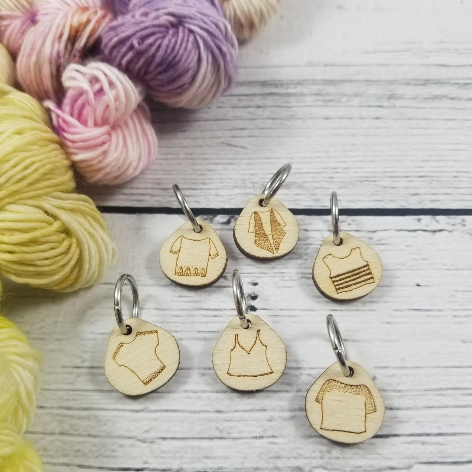 Katrinkles Monthly Stitch Markers