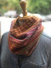 Darn Knit Stripe it! - PDF of the pattern