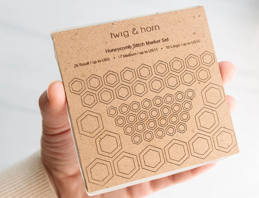 Honeycomb Stitch Markers