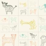 Item#10736 - Savannah Critters Galore Multi - Item#10736