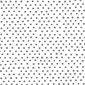 L13 Deal 10 - 2  Yard Cut of Pixie Dot Square Blender White - Quilting Treasures - Ink & Arrow Fabrics - Bolt11086.N