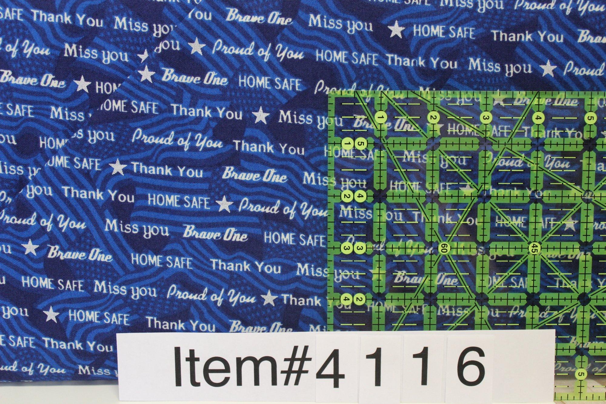 Item#4116 - Let Freedom Ring - Quilting Treasures - Kensington Studio - Bolt 4116
