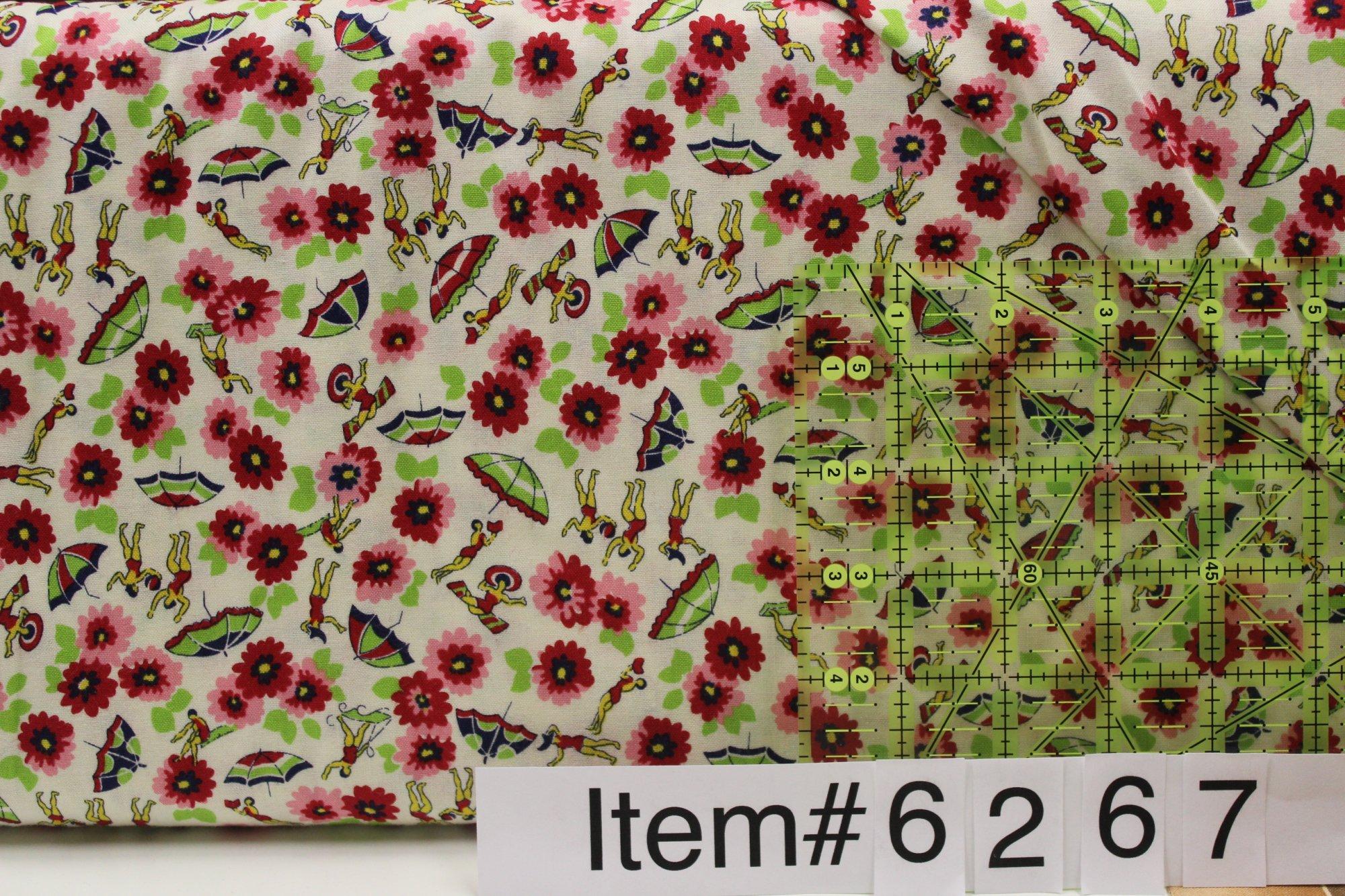 Item#6267 - Toy Box Circa 1930's - Blue Hill Fabrics - Sara Morgan - Bolt 6267