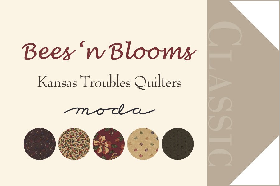 Item#9237 - Bees N Blooms - Moda - Kansas Troubles - Bolt#9237