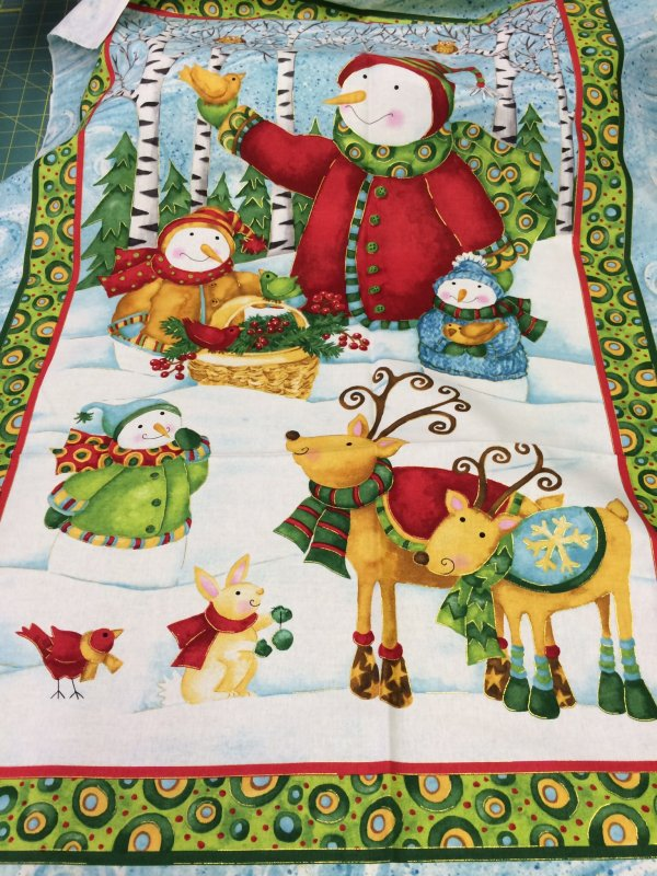 Item#7168 - Panel - Winter Woodlands - SPX Fabrics - Debi Hron - Bolt 7168