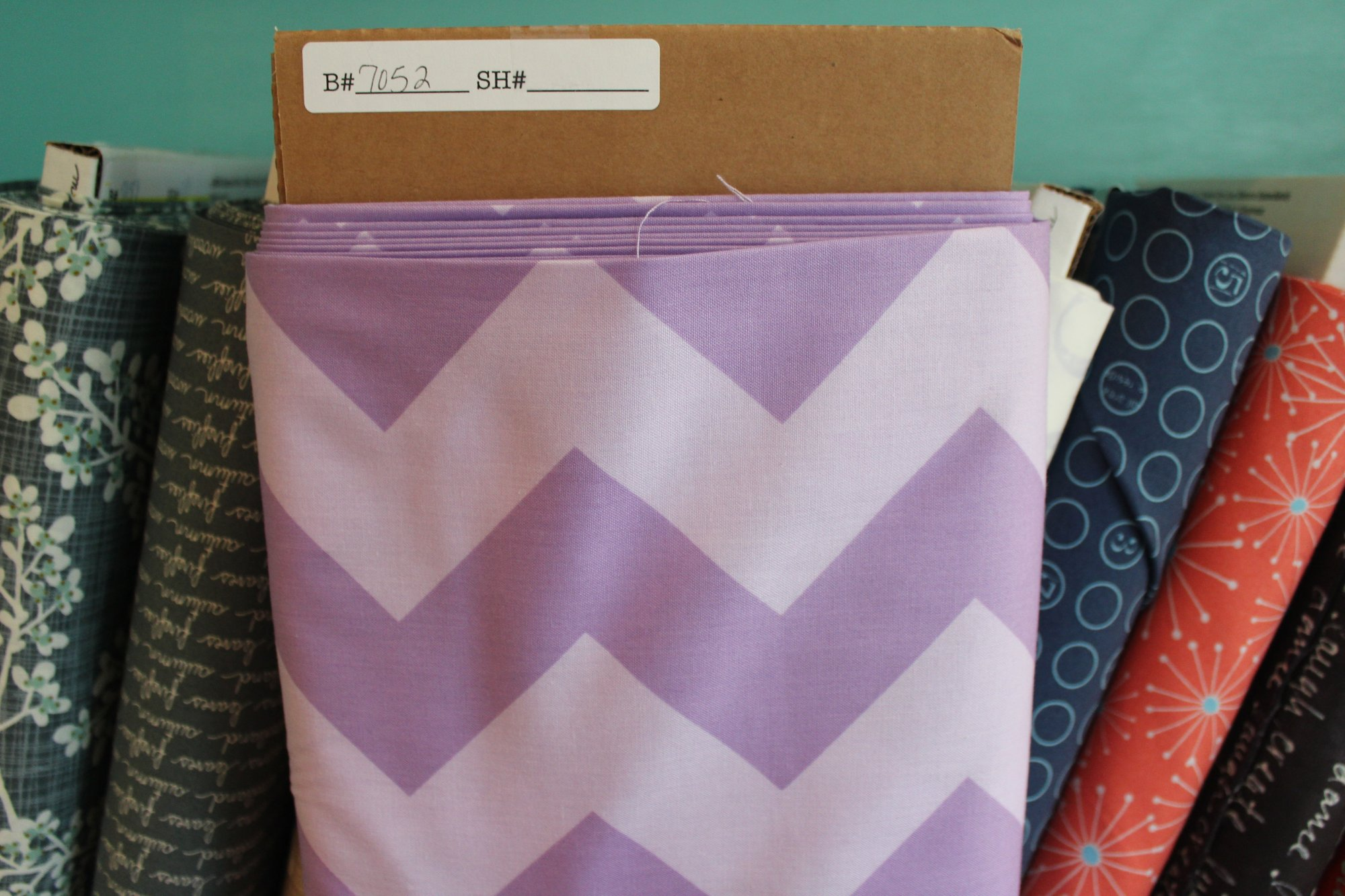 Item#7052 - Large Chevrons - Riley Blake - Bolt 7052