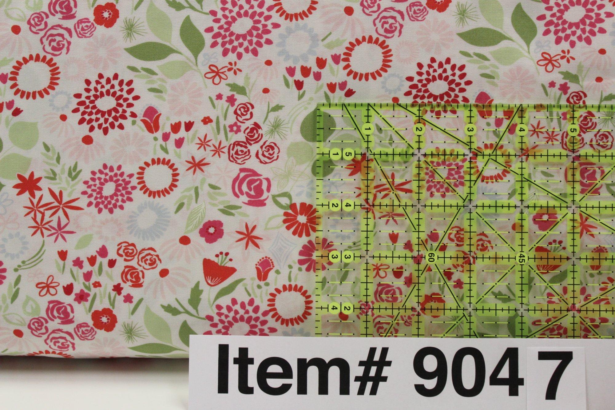 Item#9047 - Aria Mariposa Multi Begonia - Moda - Kate Spain - Bolt# 9047
