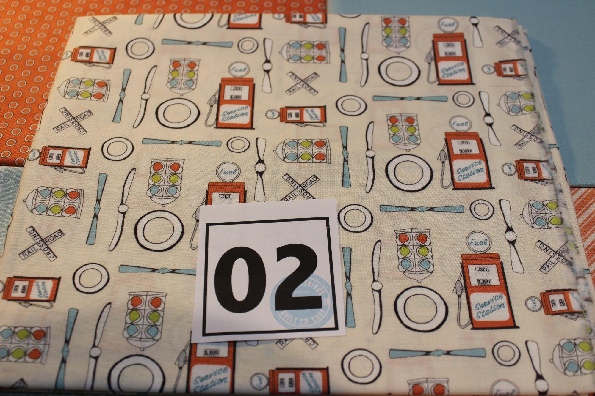 Item#1YB02 - Bundle 02 - Five One Yard Cuts