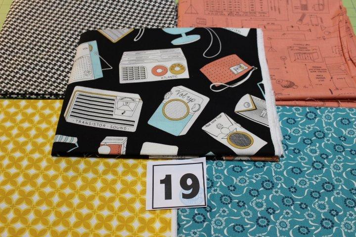 Item#1YB19 - Bundle 19 - Five One Yard Cuts