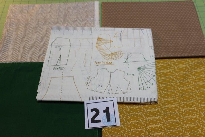 Item#1YB21 - Bundle 21 - Five One Yard Cuts