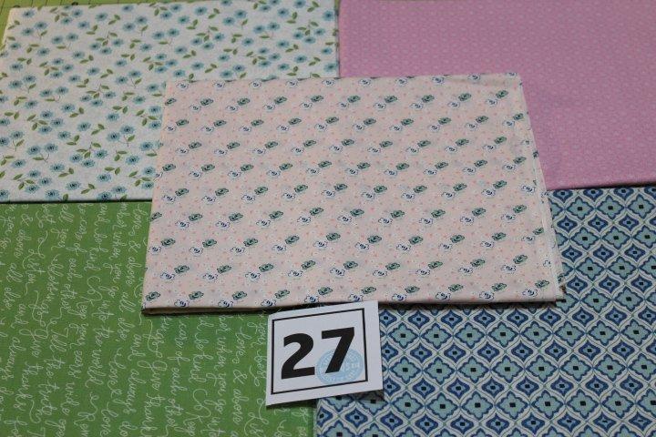 Item#1YB27 - Bundle 27 - Five One Yard Cuts