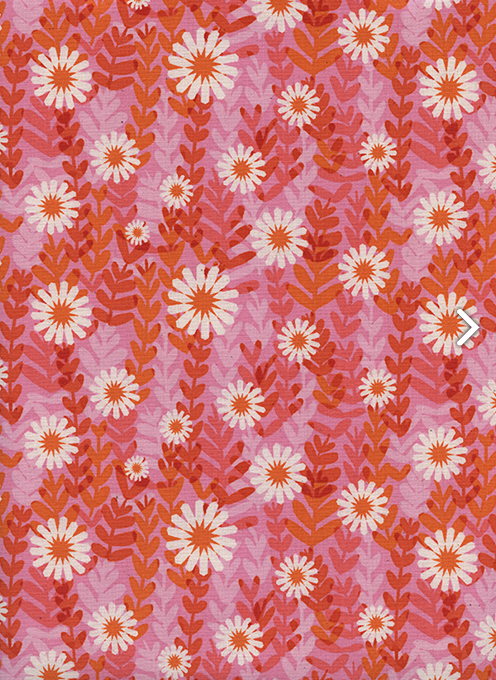 Item#11053.B - Freshly Picked Daisies Pink- Cotton & Steel - Melody Miller - Bolt#11053.B