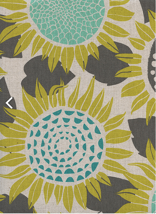 Item#11069.C - Front Yard Sunflower Canvas - Cotton & Steel - RJR - Sarah Watts - Bolt#11069.C