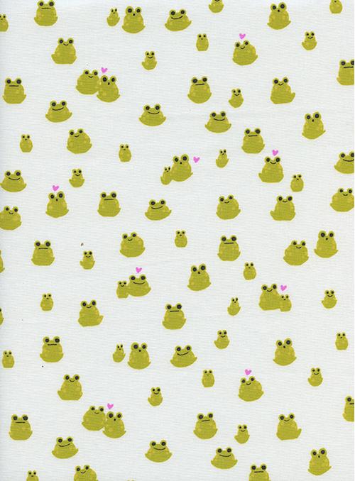 Item#11069.A - Front Yard Froggies - Cotton & Steel - RJR - Sarah Watts - Bolt#11069.A