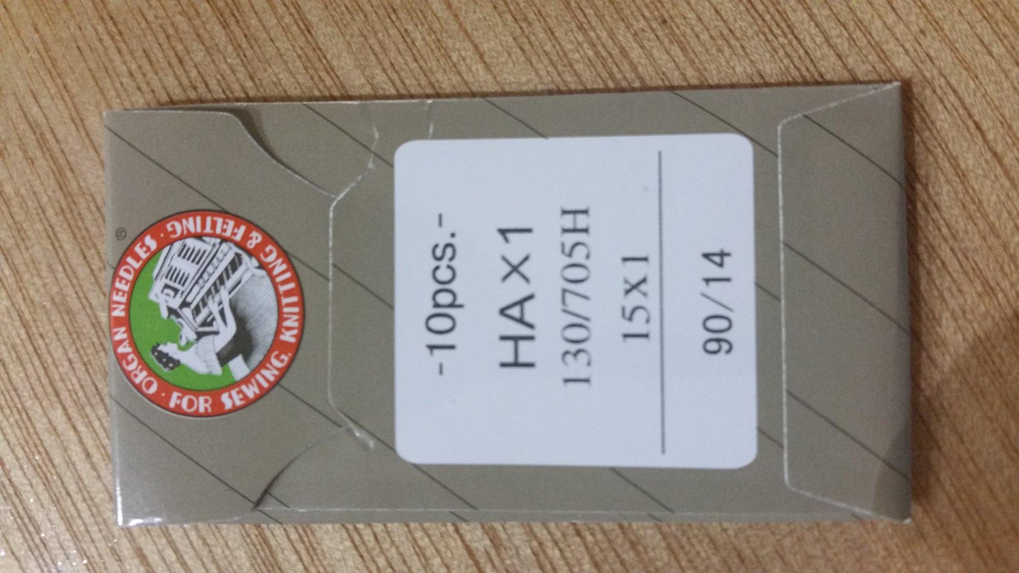 Organ Needles HAX1 90/14 Sharp