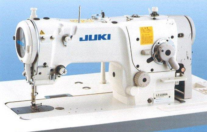 JUKI LZ-2284A  High-Speed 1 Needle Lockstitch Zigzag Stitching Industrial Sewing Machine