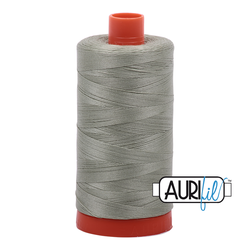 Aurifil Mako Egyptian 100% Cotton Thread 50wt 1422yds Light Laurel Green - 2902 All Colours Everyday Price $13.99