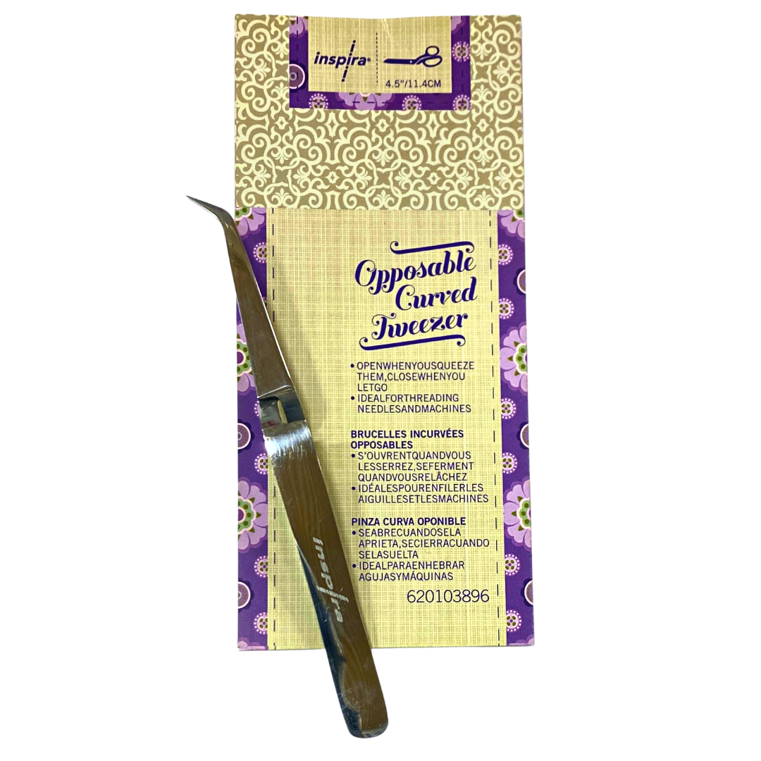 INSPIRA Opposable Curved Tweezer Only $3.99