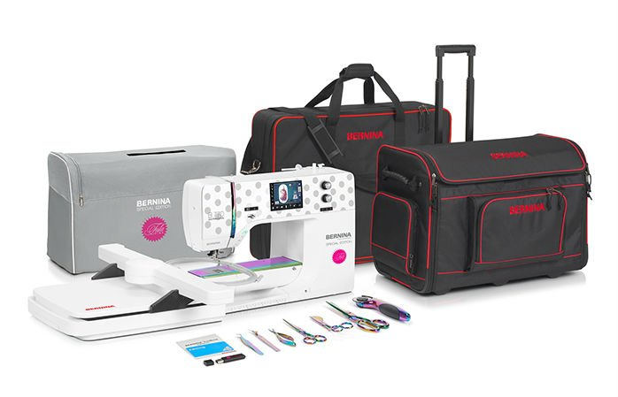 Bernina 770QE E Tula Pink In-Store Credit Value $500 Now $6799 No Taxes